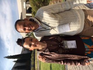 1st National Conference on Violence 2016 - Dr Corne Davis with Prof Ashley van Niekerk