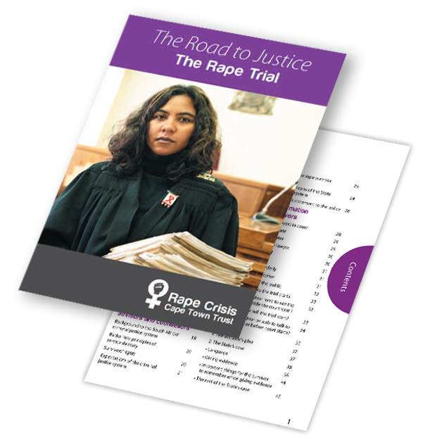 2012 Rape Crisis The Road to Justice Rape trial Booklet