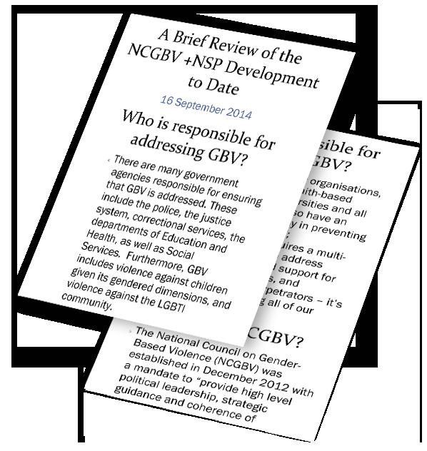BK Overview of NCGBV & NSP – Sept16