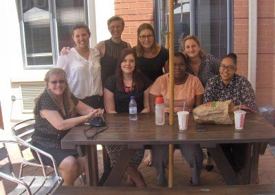 Mara, Charlene and the Volunteer team at TEARS Dec 2016