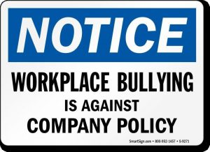 workplace-bullying-against-policy-sign-s-9271